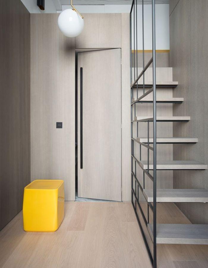Pensez à une rembarde design pour un escalier déco