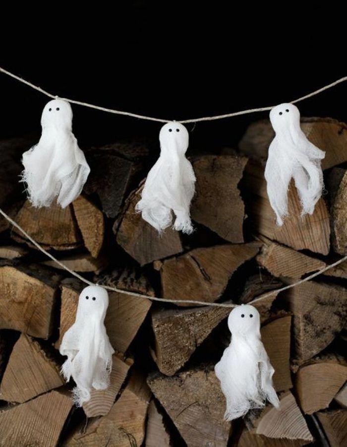 Décoration Halloween : les fantômes