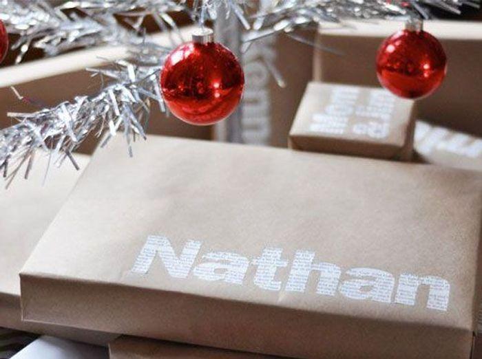 Un paquet cadeau nominatif