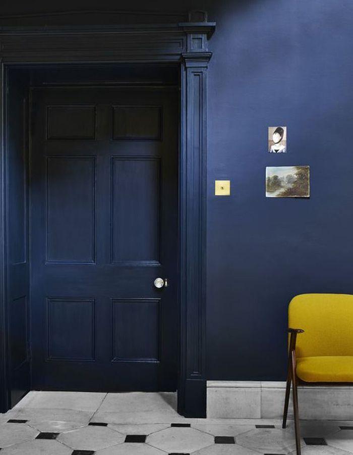 Quelles couleurs associer au jaune moutarde elle for Salon jaune et bleu
