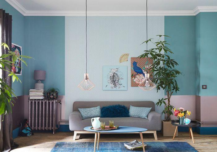 Fondez le radiateur dans la couleur du mur