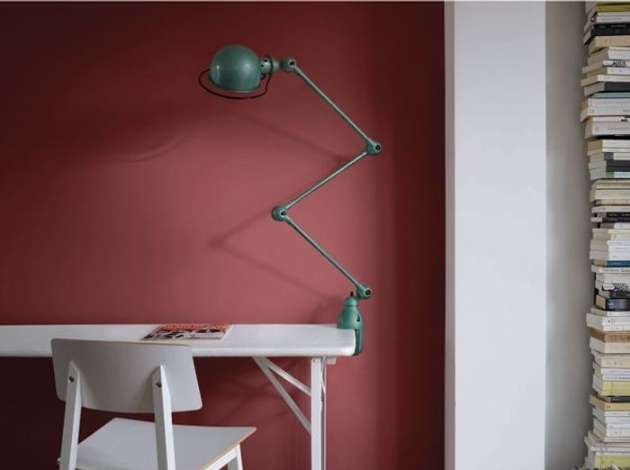 Faites entrer la couleur dans votre int rieur elle d coration - Couleur mur bureau maison ...