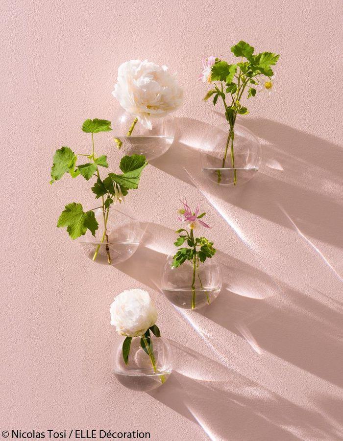 Fleurs comme en apesanteur