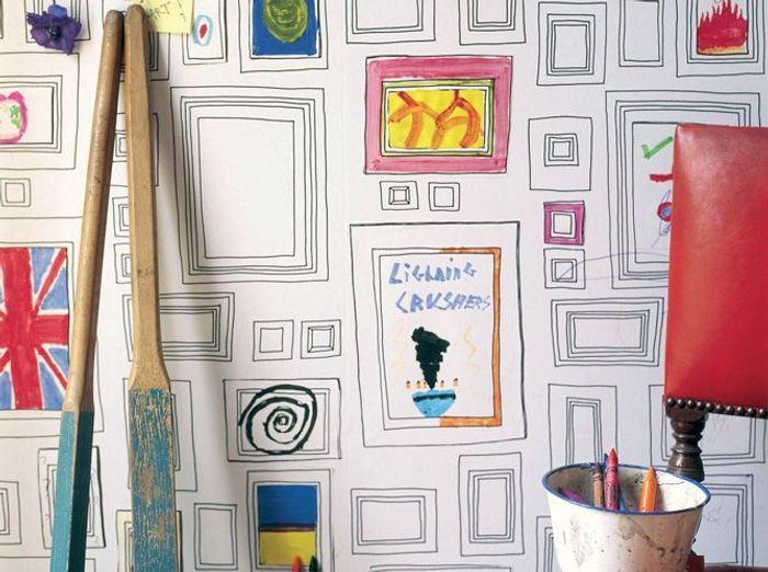 les papiers peints leroy merlin. Black Bedroom Furniture Sets. Home Design Ideas