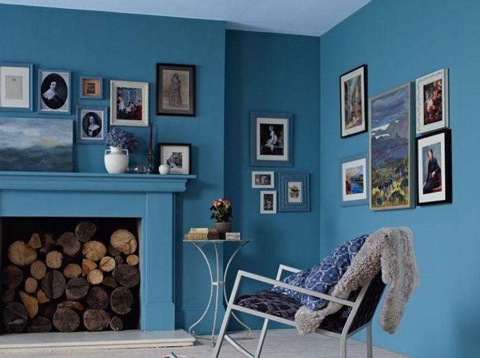 Les murs font le plein de couleurs elle d coration for Peinture couleur zinc
