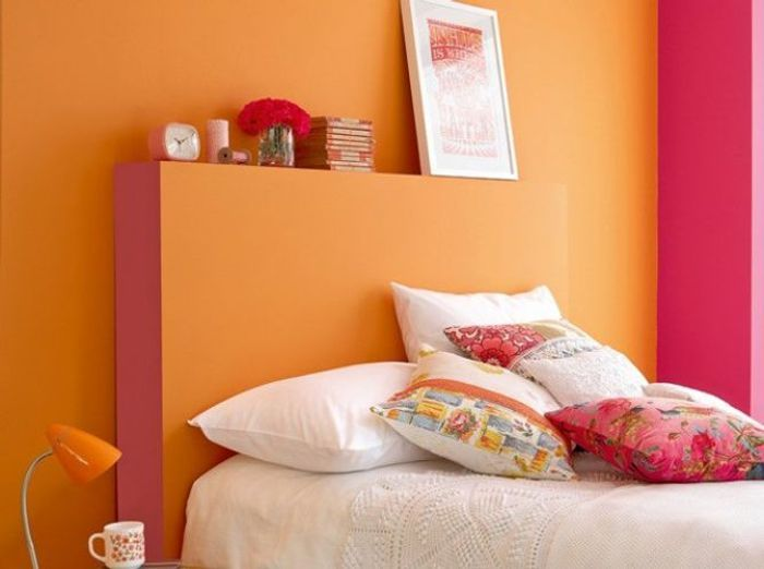 Prolongez l t et donnez un coup de soleil vos murs for Photo peinture chambre