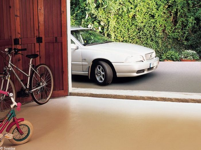 Garageenbetonbeige