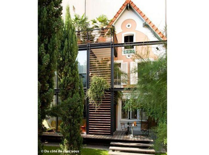 5 id es d extension en bois pour ma maison elle d coration. Black Bedroom Furniture Sets. Home Design Ideas