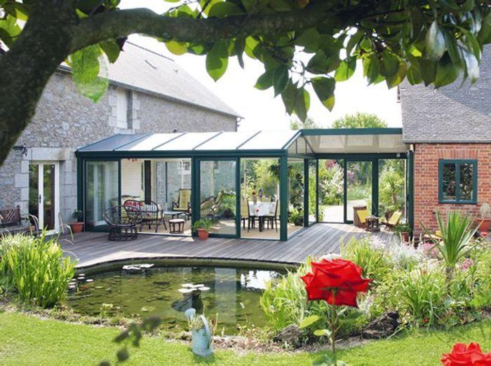 Extension maison veranda prix veranda atelier artiste 04 for Extension de maison en bois prix au m2