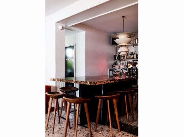 Bar en terrazzo decoration tendance
