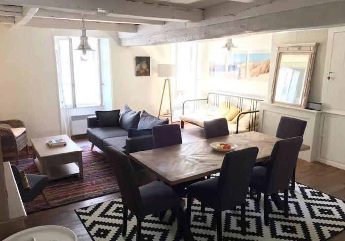 Appartement en duplex sur l'île de Ré