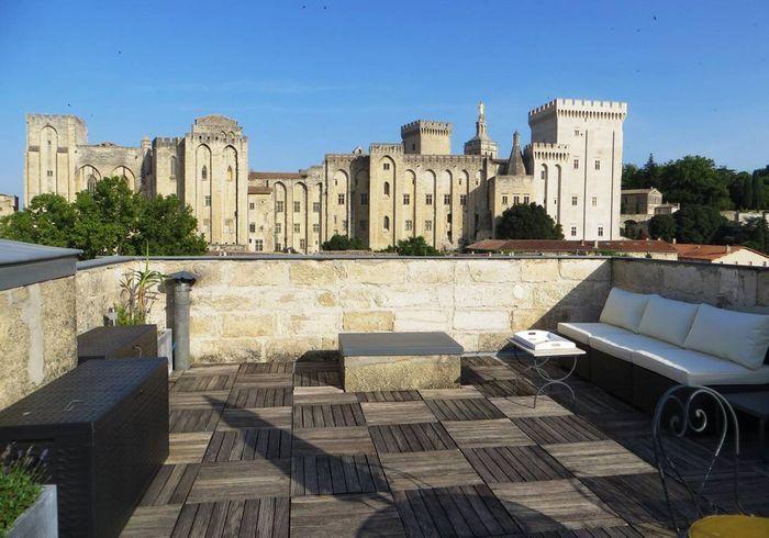 Appartement sous les toits avec rooftop à Avignon