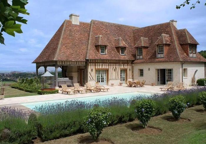 Villa démesurée à Deauville