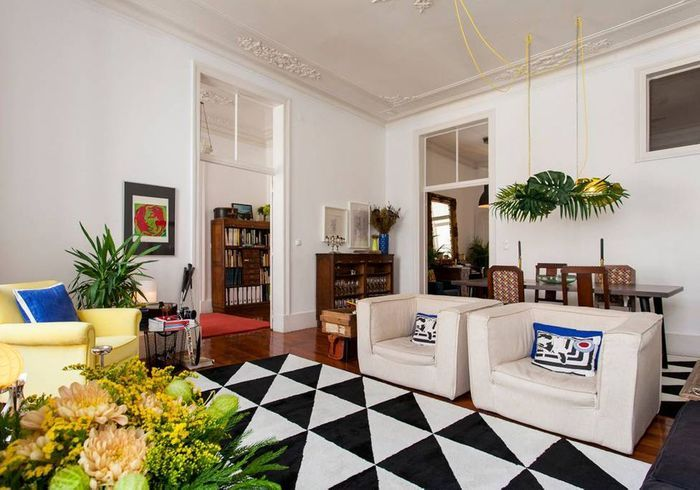 Appartement au style mix & match à Lisbonne