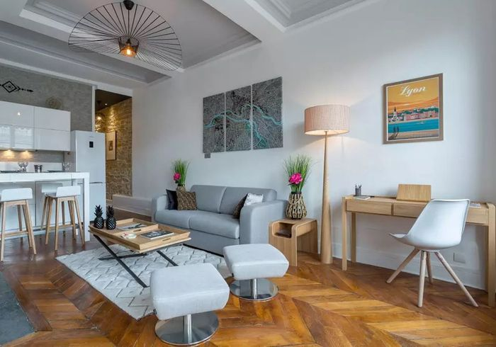 Appartement au style scandinave à Lyon