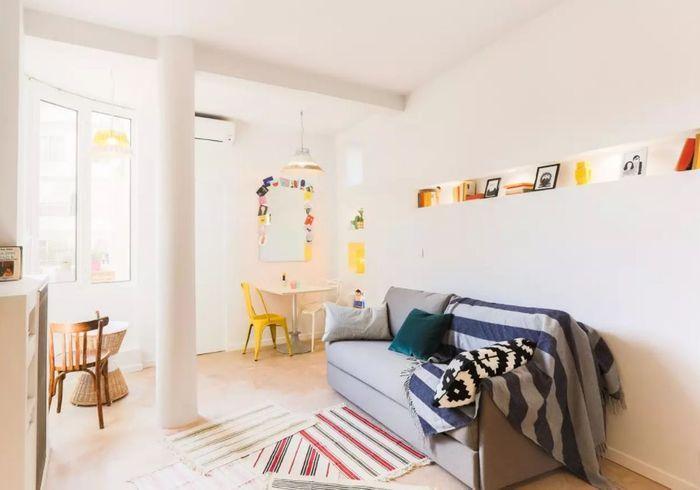 Appartement original avec petite terrasse à Nice