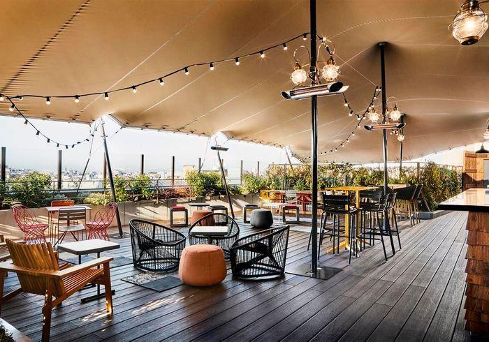 Bar Khayma : un rooftop à la hauteur