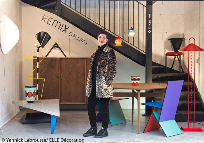 Remix Gallery, mobilier des années 80