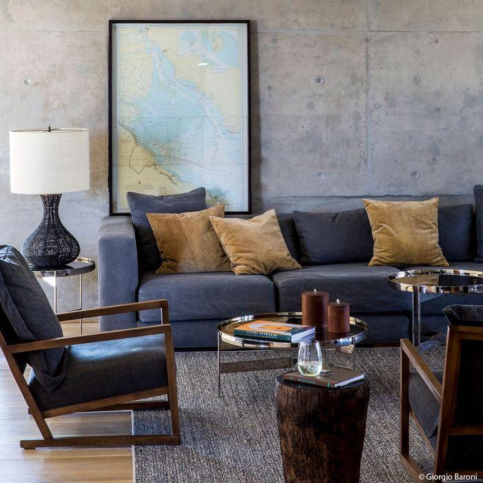 hotel casa de uco nature argentine elle d coration. Black Bedroom Furniture Sets. Home Design Ideas