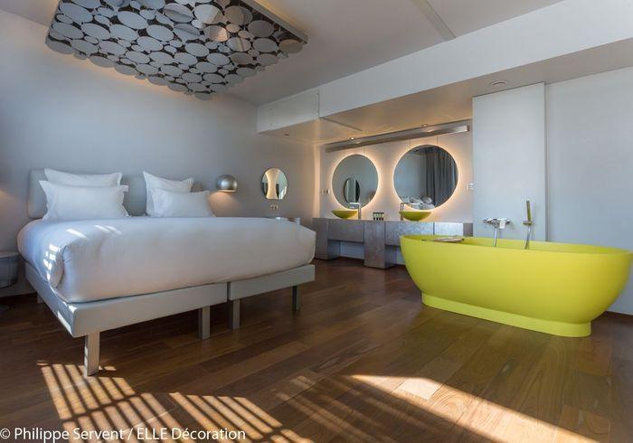 Une chambre de l'hôtel Off