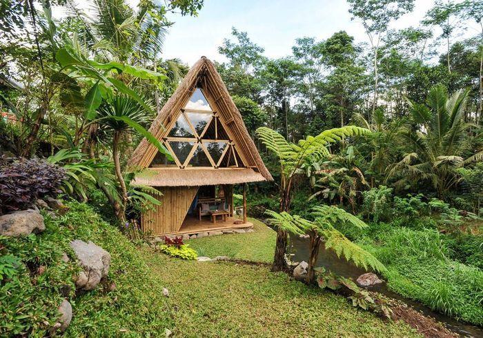 Une maison écolo à Bali (Indonésie)
