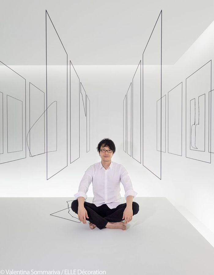 "Oki Sato - Studio Nendo - Installation ""Invisible Outlines"""