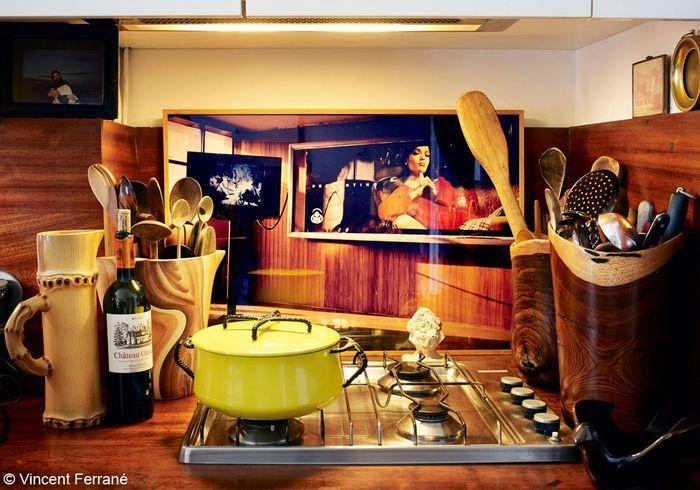 la cuisine d'India Mahdavi