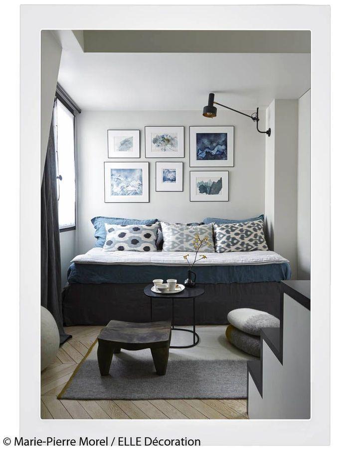 Lit d'appoint en guise de divan