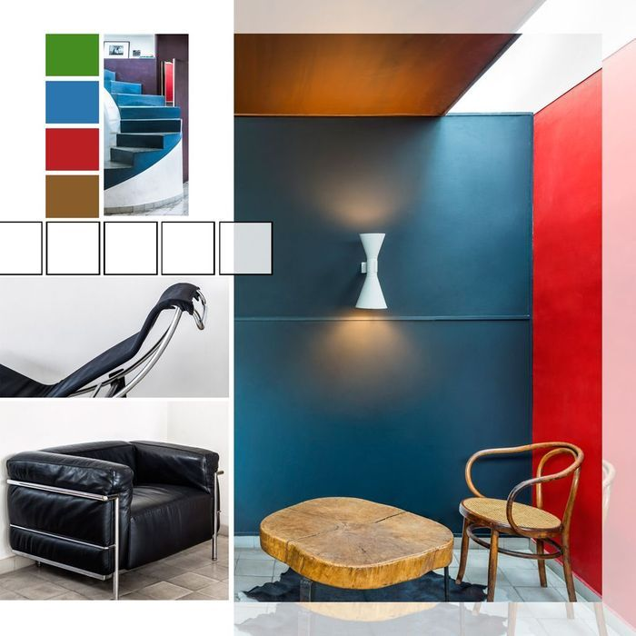 visite tr s priv e de l 39 appartement atelier parisien de le corbusier elle d coration. Black Bedroom Furniture Sets. Home Design Ideas
