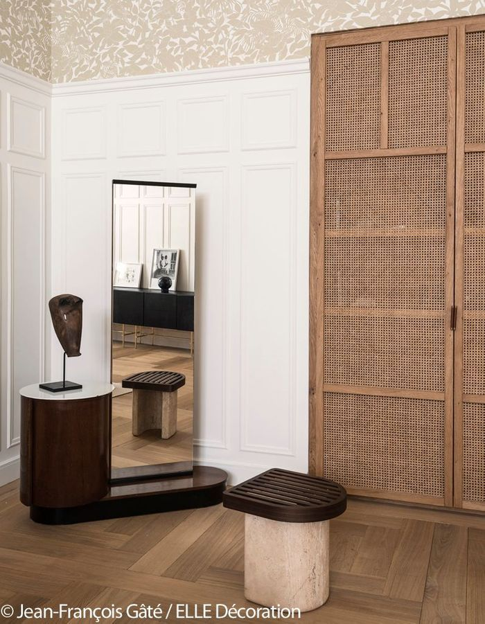 Chambre sous influence Arts & Crafts