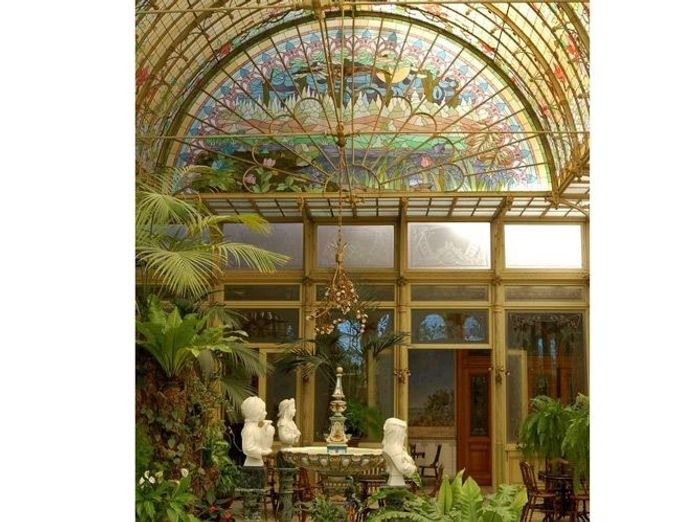 Le patio art nouveau