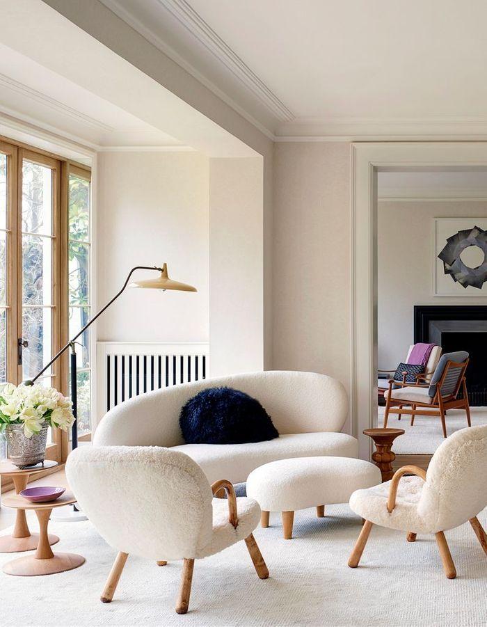 Entre luxe et ann es 50 poussez les portes de cette for Elle decoration maison