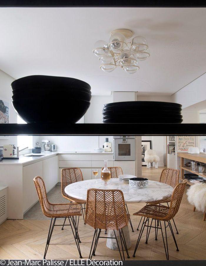 l 39 tonnante r novation d 39 une maison parisienne du 19 me si cle elle d coration. Black Bedroom Furniture Sets. Home Design Ideas