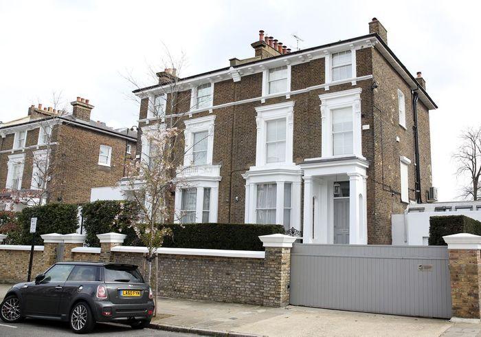 La villa de Gwyneth Paltrow (Londres, Angleterre)