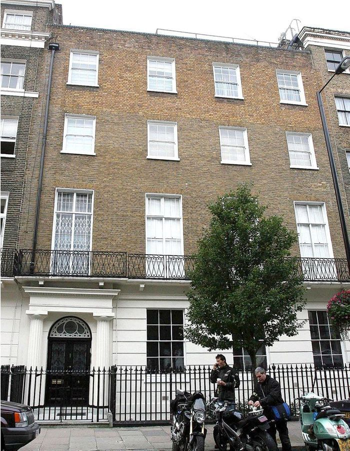 La villa de Madonna (Londres, Angleterre)