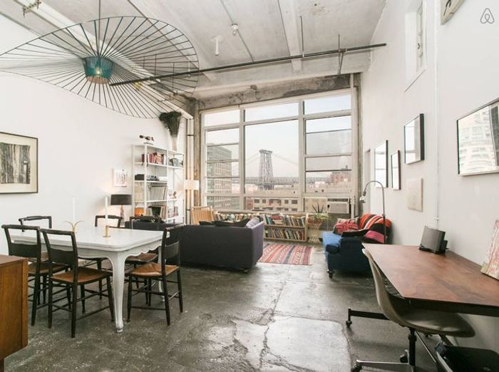 Loft industriel brooklyn
