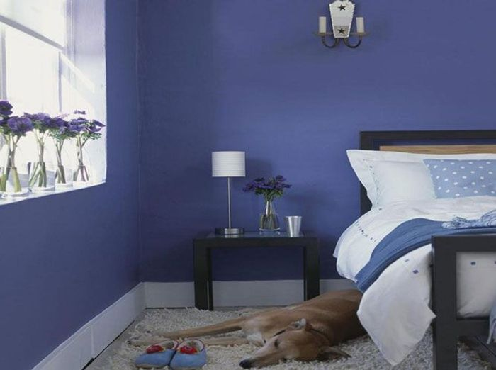 une d co moderne qui fleure bon la provence elle d coration. Black Bedroom Furniture Sets. Home Design Ideas