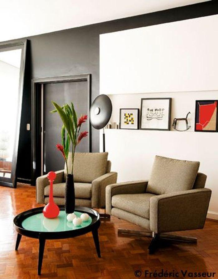tendance noir graphique elle d coration. Black Bedroom Furniture Sets. Home Design Ideas
