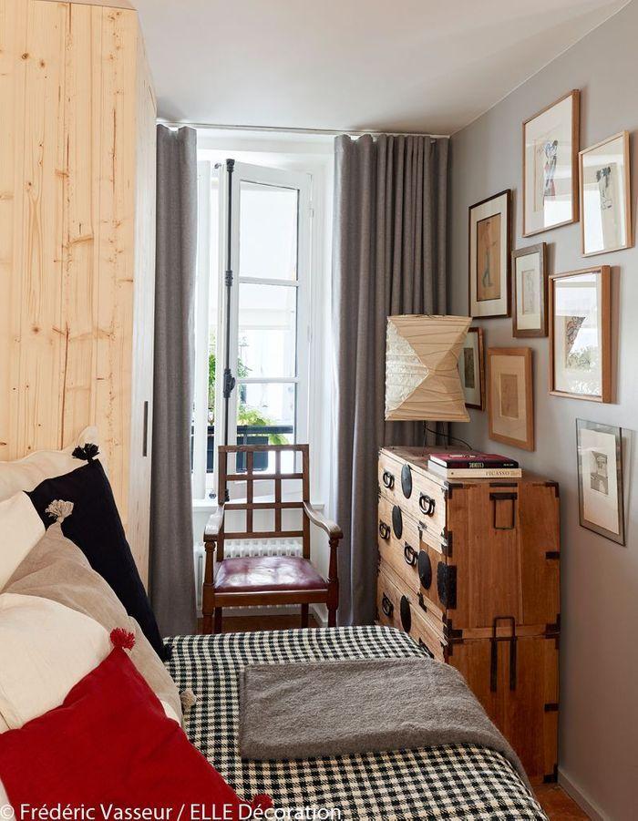 Une petite chambre lumineuse