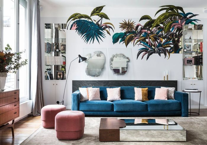 Decoration Appartement Parisien : Un appartement terriblement parisien elle décoration