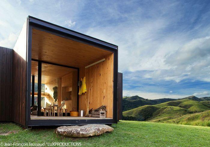 Cabane en pleine nature