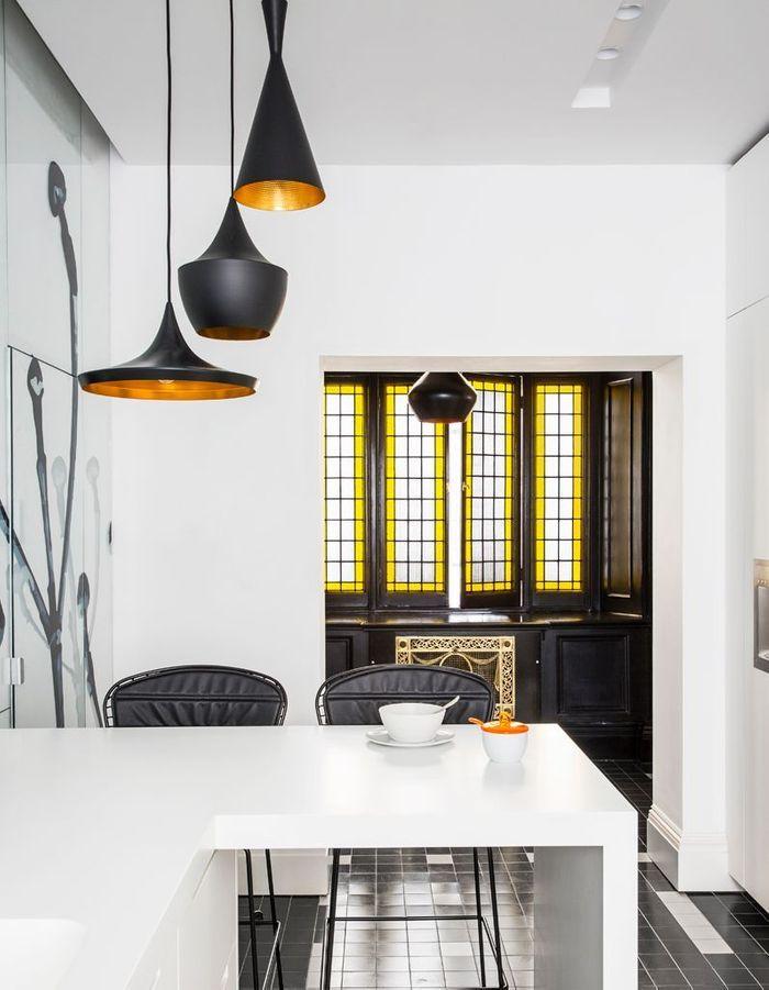 une maison victorienne l 39 l gance sobre elle d coration. Black Bedroom Furniture Sets. Home Design Ideas