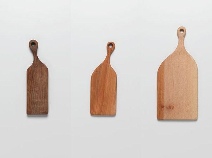 La planche à découper en bois