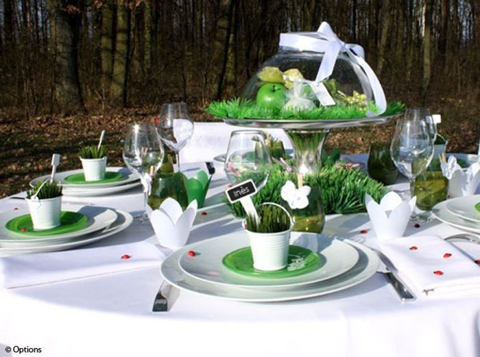 15 id es d co pour un joli centre de table de mariage - Idee de decoration de table ...