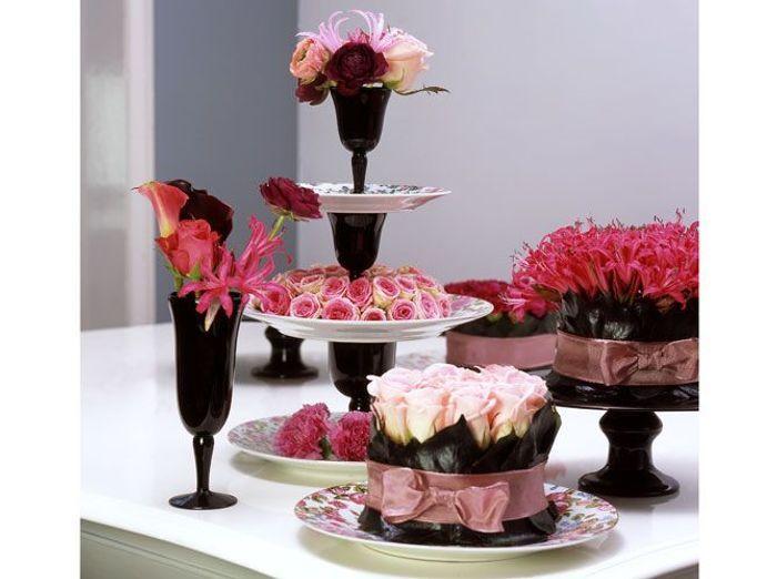 Fleurs mariage buffet OFH