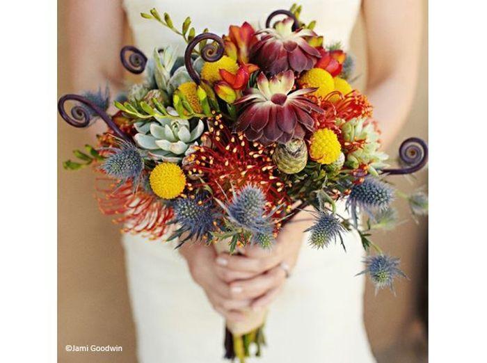 Fleurs mariage bouquet wedding chicks