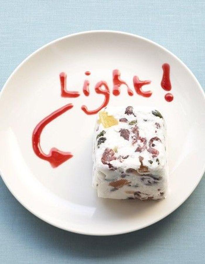 recette minceur soir semifreddo de fromage blanc que manger le soir pour garder la ligne. Black Bedroom Furniture Sets. Home Design Ideas