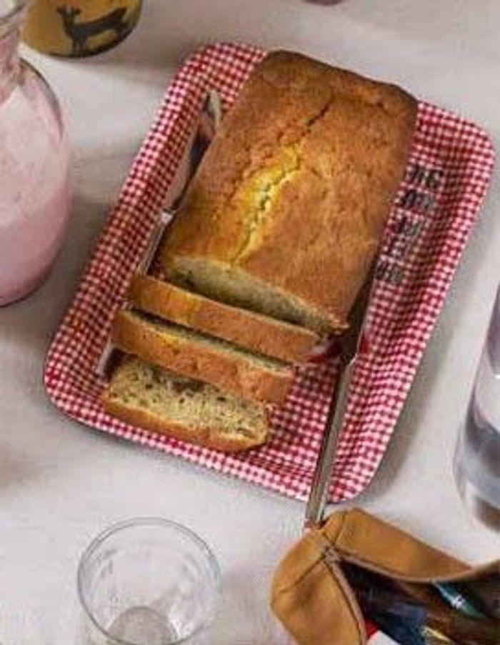 Cake sans gluten au citron