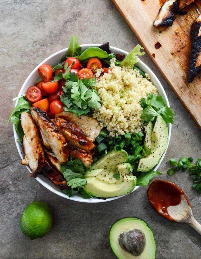 Salade healthy  salade complète