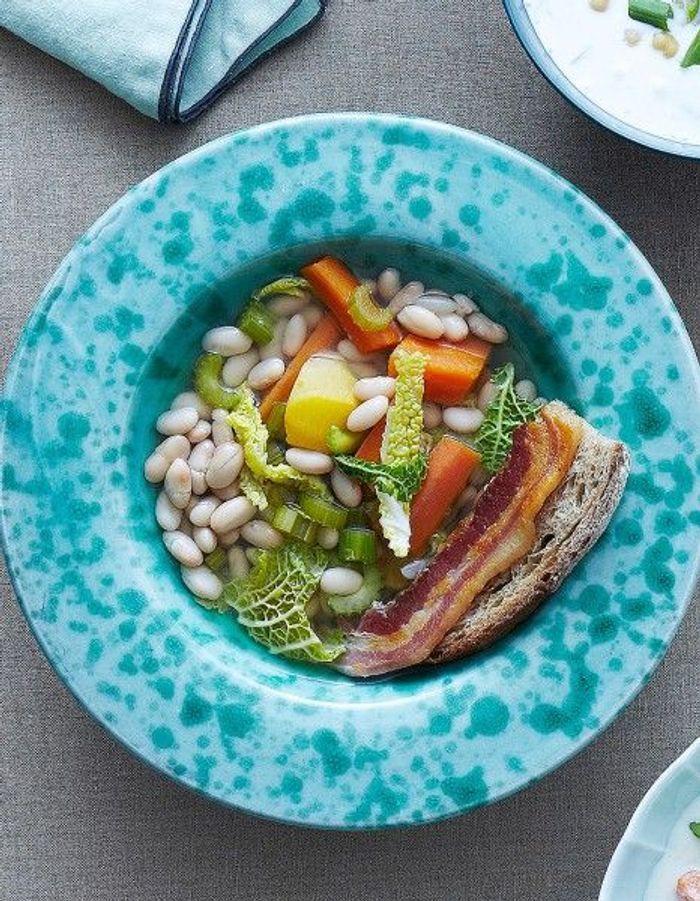Soupe de légumes : Ribollita toscane